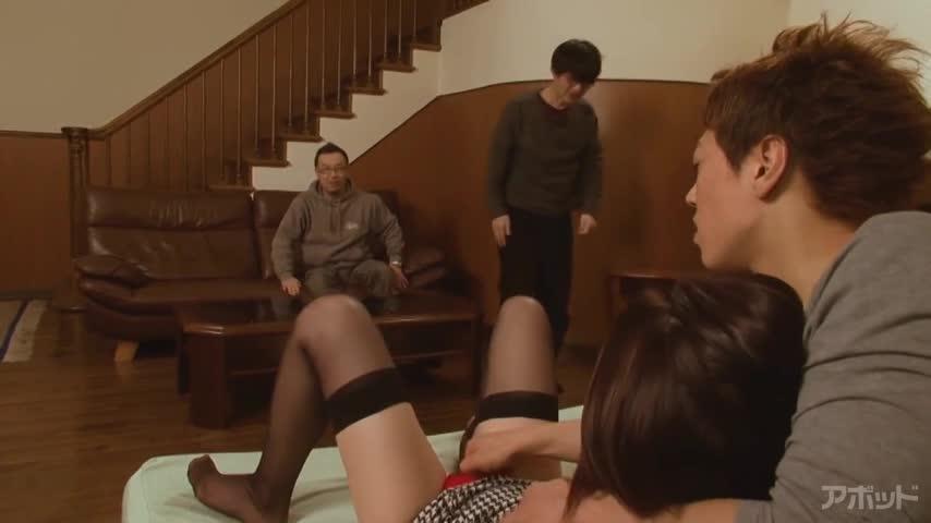 【エロ動画】僕の新妻が、初めて犯られます 不倫密着ドキュメンタリー 瀬奈涼のエロ画像1枚目