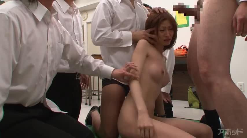 エロ動画、女教師凌辱教室 朝日奈あかりの表紙画像