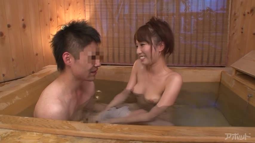 エロ動画、筆おろしの湯 ~童貞専門お風呂屋さん~ 美雪ありすの表紙画像