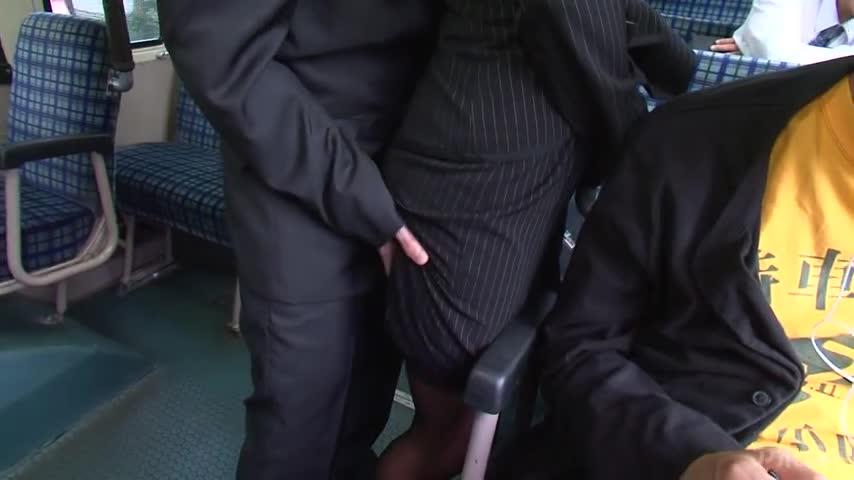 【エロ動画】痴漢バスおとり捜査官 朝日奈あかりのエロ画像1枚目