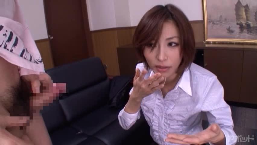 エロ動画、朝日奈あかりの素人男優オーディションの表紙画像