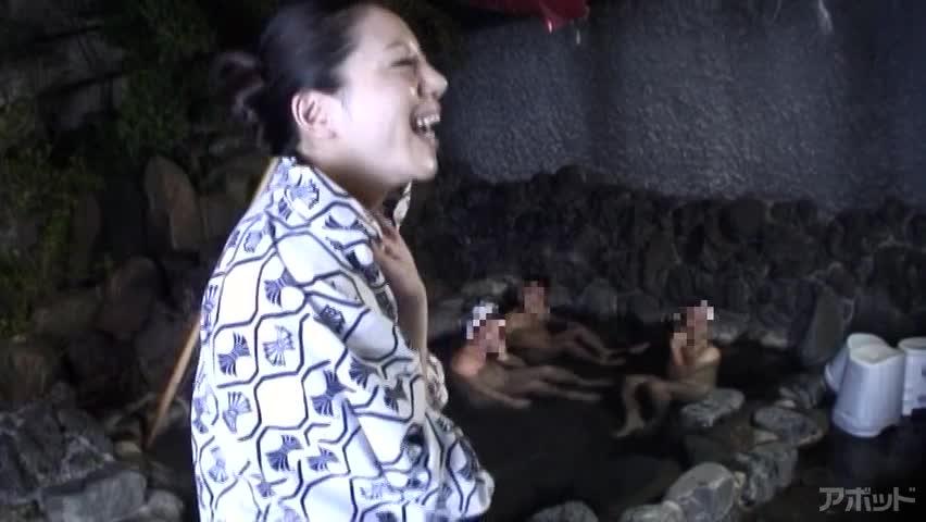 エロ動画、湯けむりに抱かれて ~人妻旅情交尾~ 愛澄玲花の表紙画像